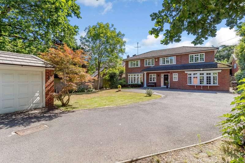 5 Bedrooms Detached House for sale in Oakcroft Road, West Byfleet, Surrey, KT14