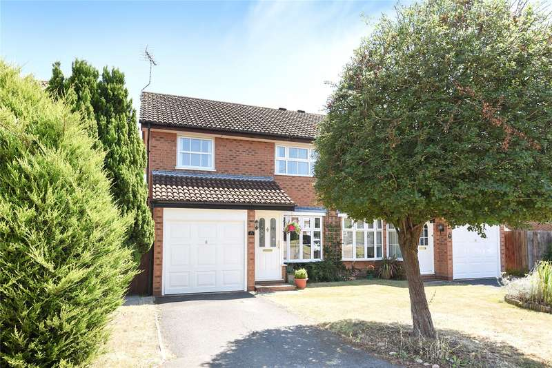 3 Bedrooms Semi Detached House for sale in Devon Close, Wokingham, Berkshire, RG41