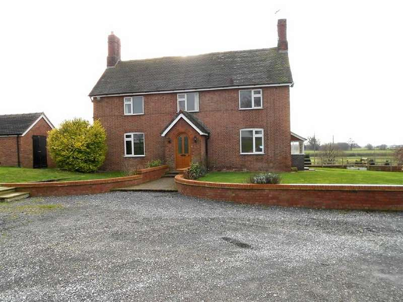 5 Bedrooms Detached House for sale in London Road, Walgherton, Nantwich, Cheshire