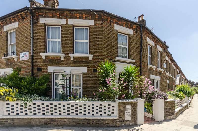 3 Bedrooms Mews House for sale in Kilburn Lane, Kensal Rise, W10