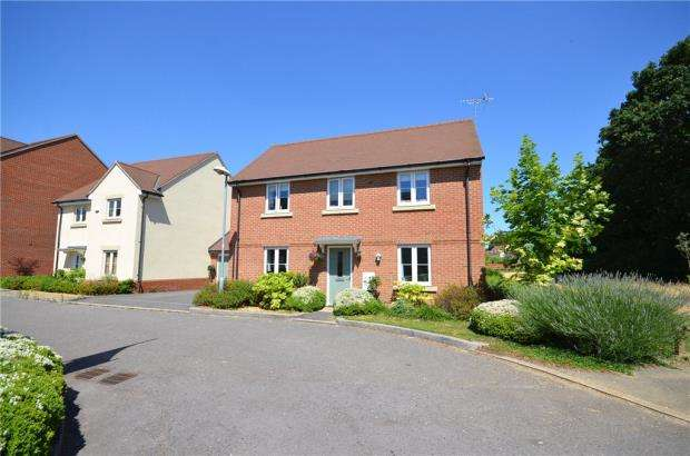 4 Bedrooms Detached House for sale in Blackcap Lane, Bracknell, Berkshire
