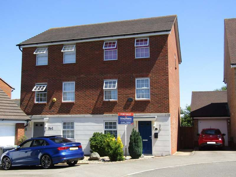 3 Bedrooms Semi Detached House for sale in Glossop Way, Church End, Arlesey SG15 6YG