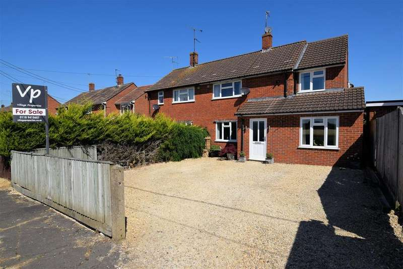 4 Bedrooms Semi Detached House for sale in South Bank, South Stoke, Reading