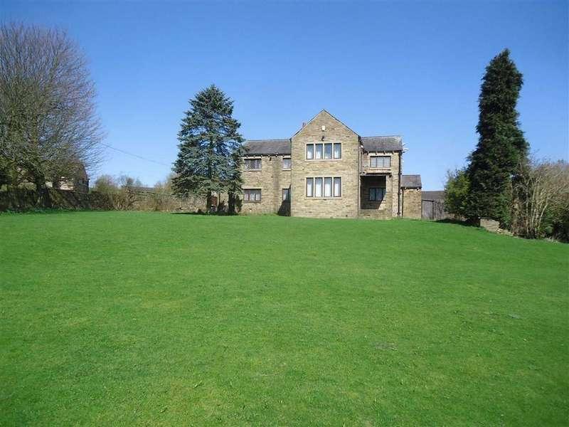 4 Bedrooms Detached House for sale in Low Bentley, Green Lane, Shelf, West Yorkshire, HX3