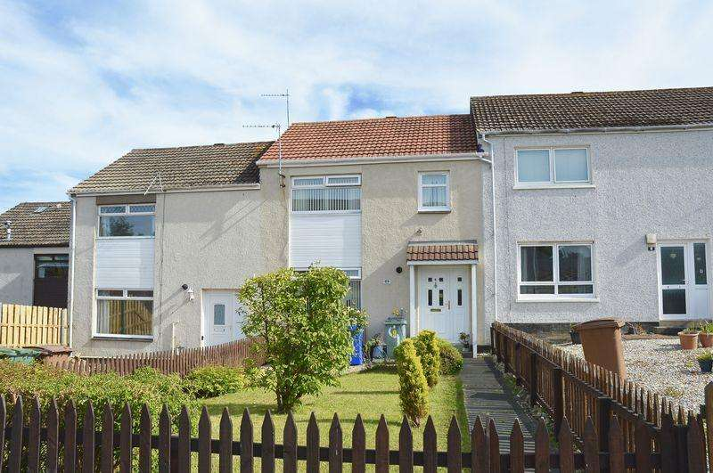 3 Bedrooms Terraced House for sale in Harebell Place, Ayr