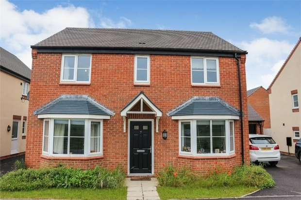 4 Bedrooms Detached House for sale in Lumley Close, Boulton Moor, Derby
