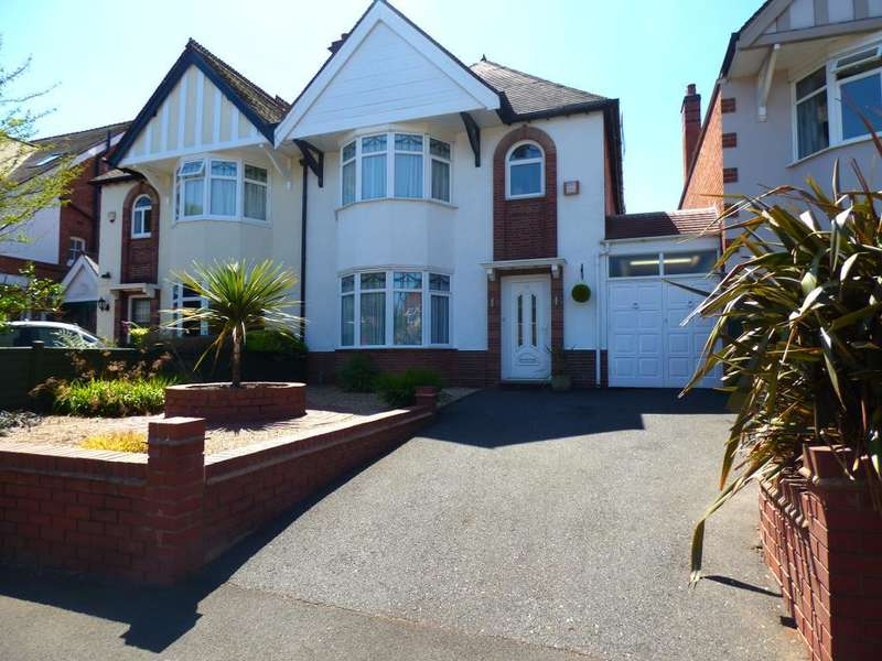 4 Bedrooms Semi Detached House for sale in Lordswood Road, Harborne, Birmingham, B17 9BY
