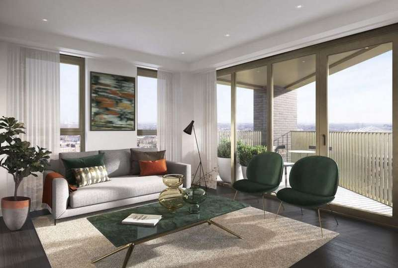 2 Bedrooms Apartment Flat for sale in Royal Docks West, Royal Victoria, E16