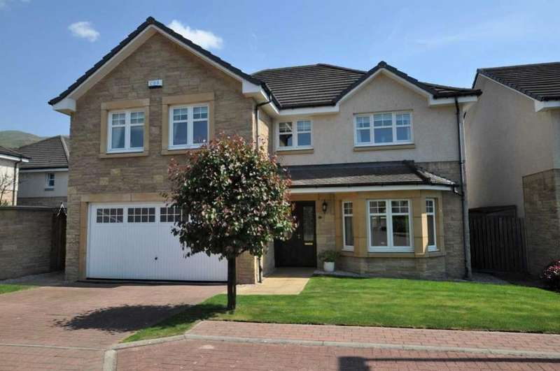 5 Bedrooms Detached House for sale in 8 Cedar Grove, Menstrie, FK11 7dy, UK