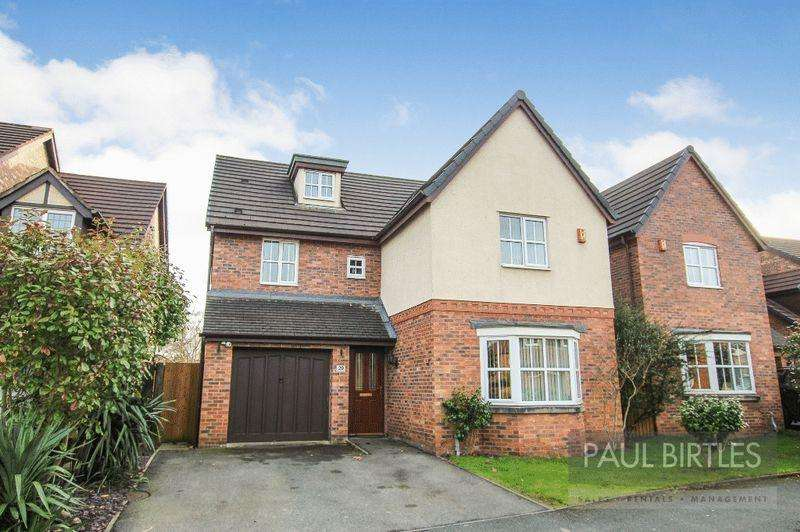 5 Bedrooms Detached House for sale in Minster Drive, Manchester