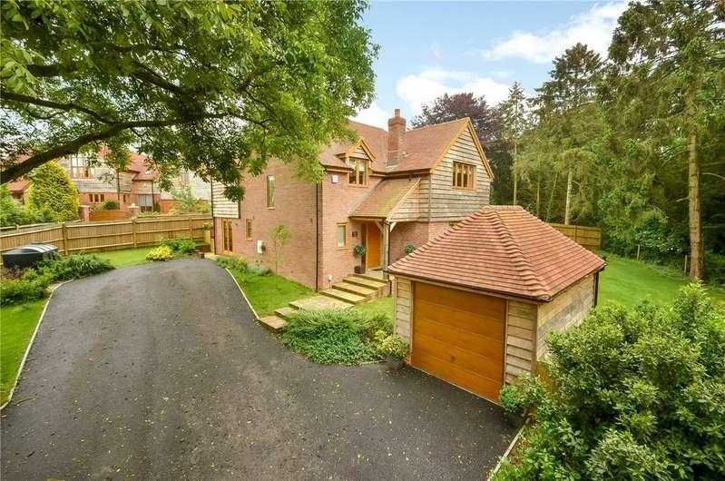 4 Bedrooms Detached House for sale in Furzedown Road, Kings Somborne, Stockbridge, Hampshire, SO20