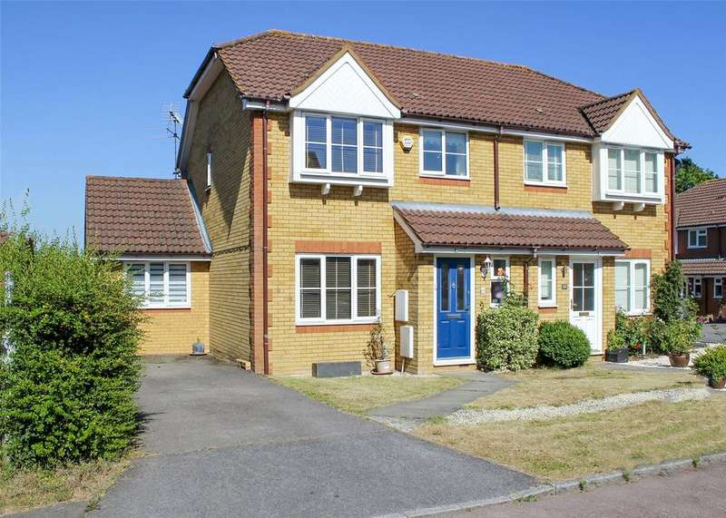 3 Bedrooms Semi Detached House for sale in Crockford Place, Binfield, Berkshire, RG42