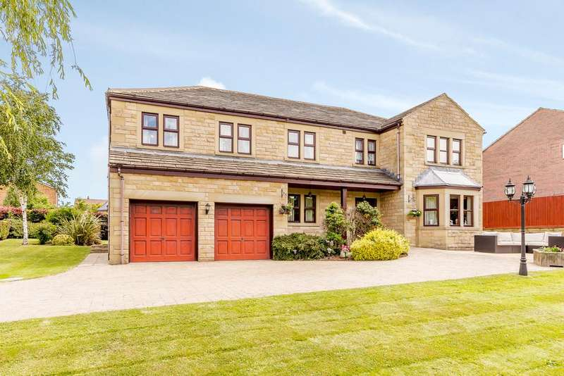 5 Bedrooms Detached House for sale in Balk Farm Court, Birdwell, Barnsley