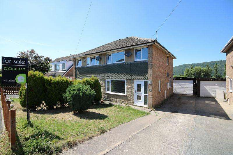 3 Bedrooms Semi Detached House for sale in Grasmere Drive, Elland