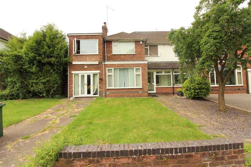 4 Bedrooms Semi Detached House for sale in Tutbury Avenue, Cannon Park, Coventry