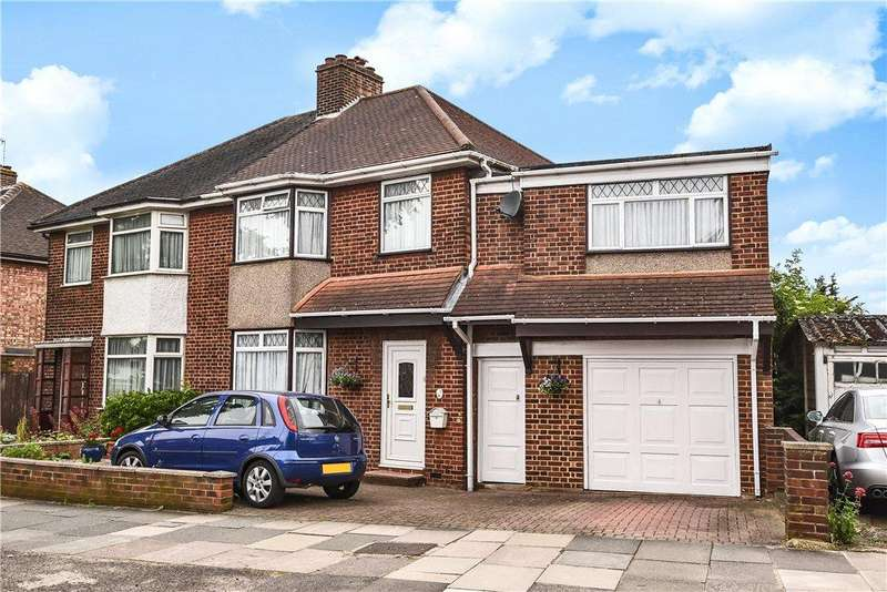 4 Bedrooms Semi Detached House for sale in Dorchester Road, Northolt, Middlesex, UB5