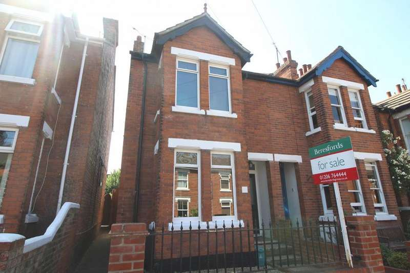 3 Bedrooms Semi Detached House for sale in Scarletts Road, Colchester, Essex, CO1