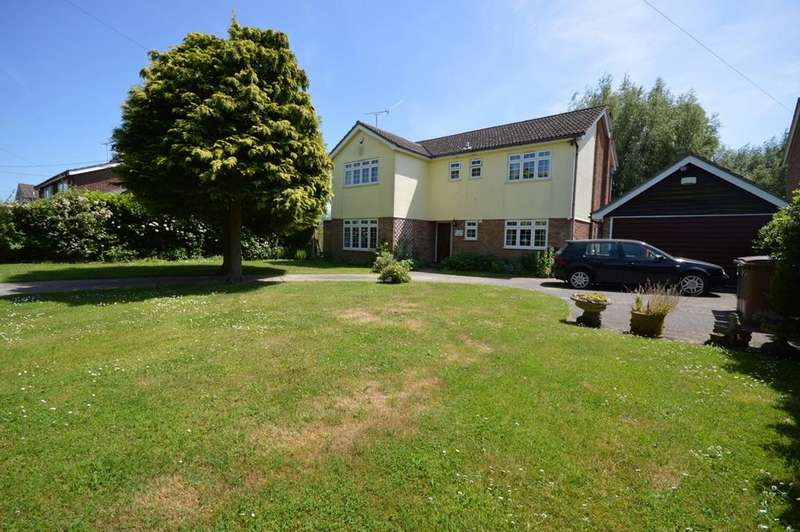 5 Bedrooms Detached House for sale in Domsey Lane, Little Waltham, Chelmsford, CM3