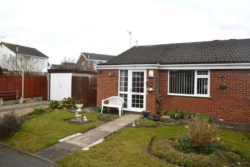 2 Bedrooms Semi Detached Bungalow for sale in Hereford Close, Barwell, Leicestershire, LE9 8HS