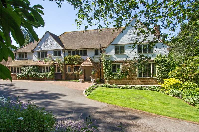 5 Bedrooms Detached House for sale in Tennyson's Ridge, Haslemere, Surrey, GU27