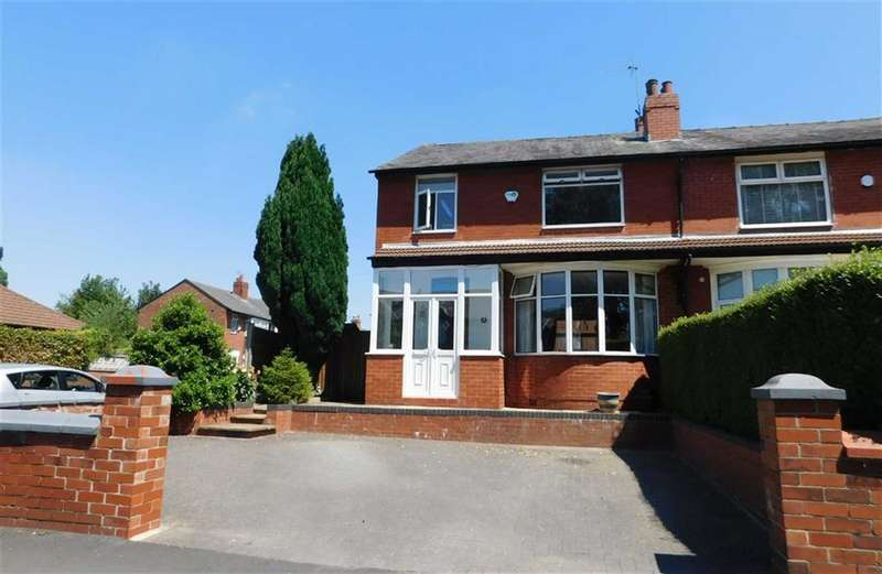 3 Bedrooms Semi Detached House for sale in St Lesmo Road, Cheadle Heath, Stockport