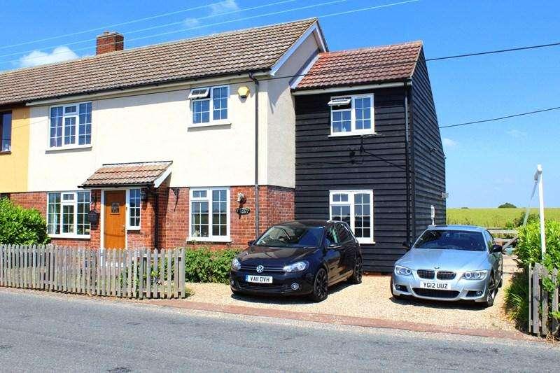 4 Bedrooms Semi Detached House for sale in Chapel Road, Beaumont cum Moze, Clacton-On-Sea