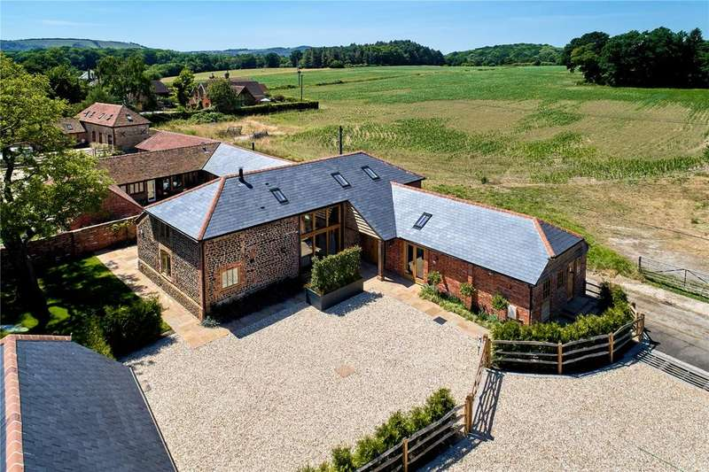4 Bedrooms Barn Conversion Character Property for sale in Minsted, Midhurst, West Sussex