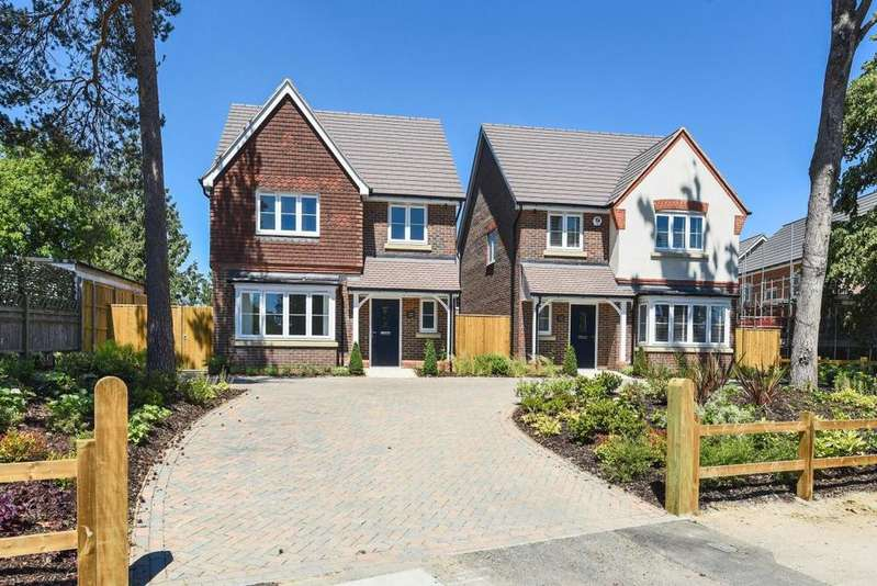 4 Bedrooms Detached House for sale in Brookers Hill, Shinfield, RG2