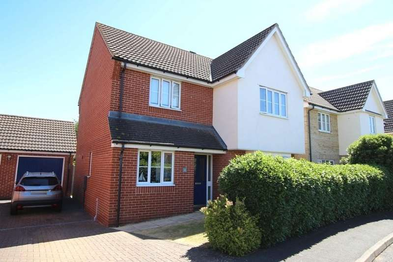 4 Bedrooms Detached House for sale in Granary End, Witchford