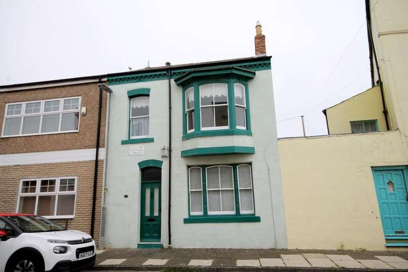 2 Bedrooms Terraced House for sale in Baptist Street, Headland, Hartlepool