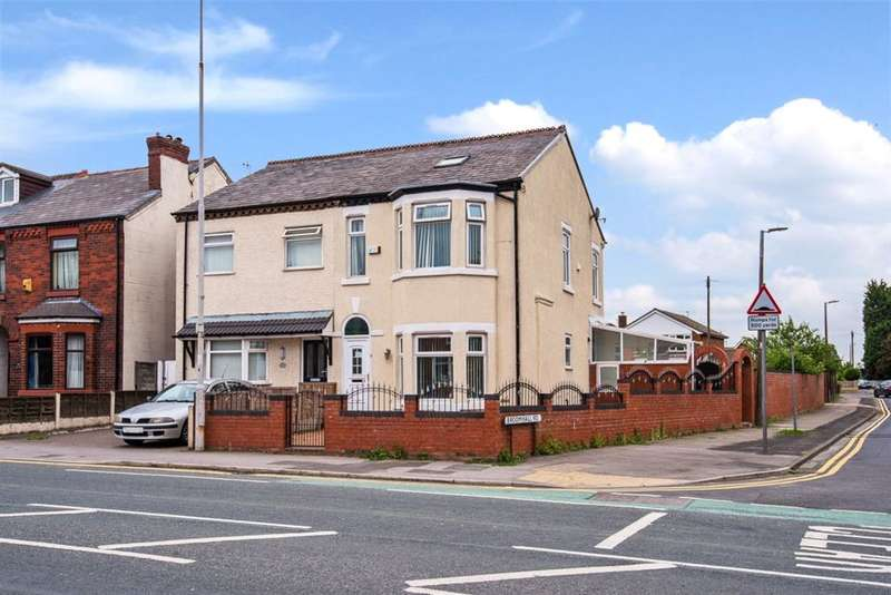5 Bedrooms Semi Detached House for sale in Bolton Road, Swinton, Manchester, M27 8XS