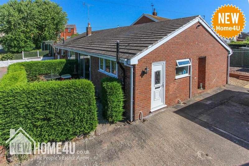 2 Bedrooms Semi Detached Bungalow for sale in Haydock Close, Leeswood, Mold
