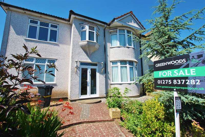 4 Bedrooms Semi Detached House for sale in Hazelbury Road, Bristol