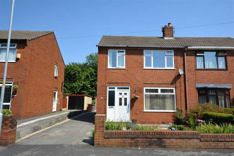 3 Bedrooms Semi Detached House for sale in Coppice Drive, Hawkley Hall, Wigan, WN3