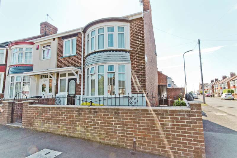 3 Bedrooms End Of Terrace House for sale in Maldon Road, Middlesbrough, TS5 4PH