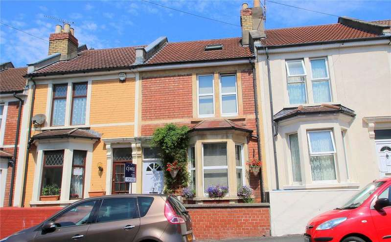 2 Bedrooms Terraced House for sale in Elmdale Road, The Chessels, Bristol, BS3