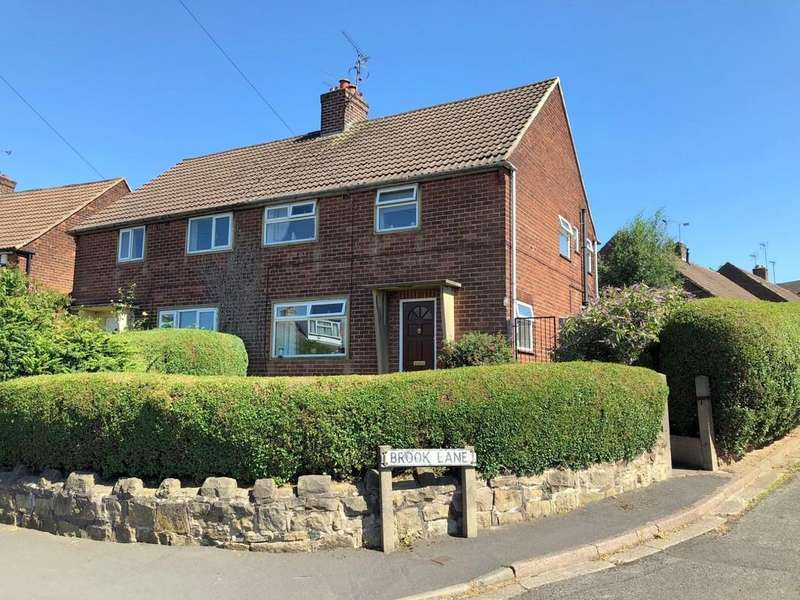 3 Bedrooms Semi Detached House for sale in Brook Avenue, Alfreton