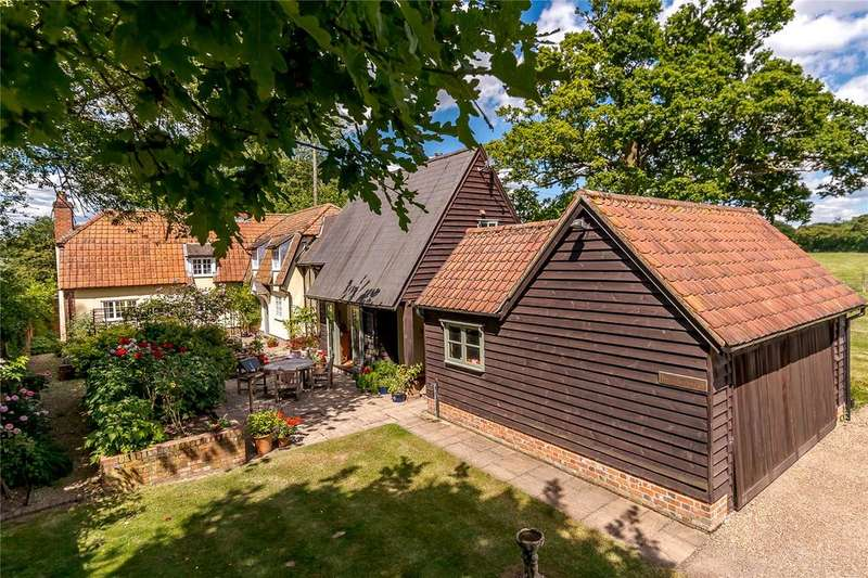 4 Bedrooms Detached House for sale in Therfield, Royston, Hertfordshire