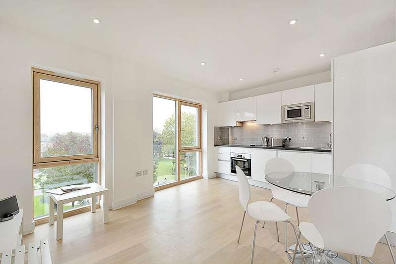 1 Bedroom Flat for sale in Eastway, Hackney Wick, London