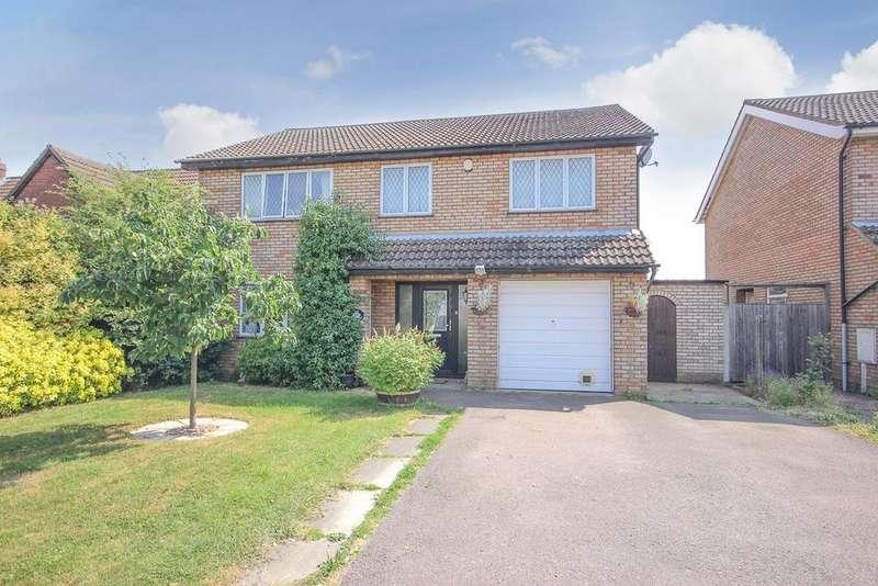 5 Bedrooms Detached House for sale in Hooked Lane, Wilstead , MK45