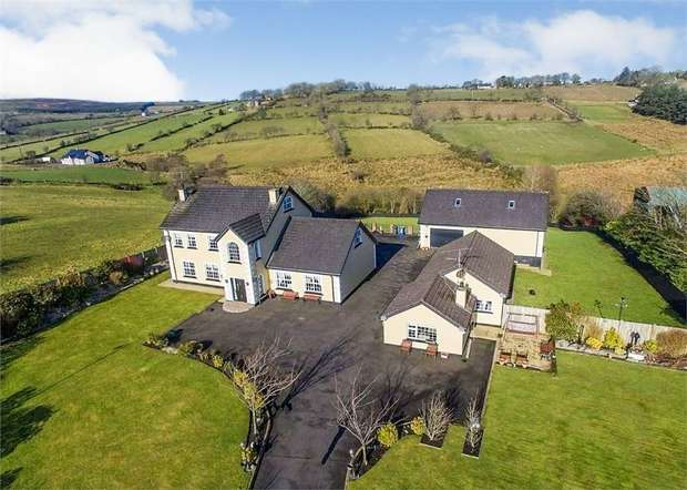 5 Bedrooms Detached House for sale in Muldonagh Road, Claudy, Londonderry