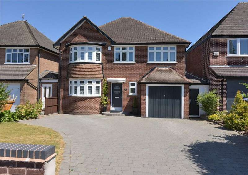 4 Bedrooms Detached House for sale in Ravenhurst Road, Birmingham, West Midlands, B17