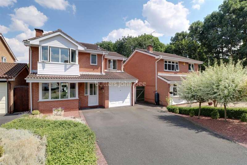 4 Bedrooms Detached House for sale in Heron Close, Telford