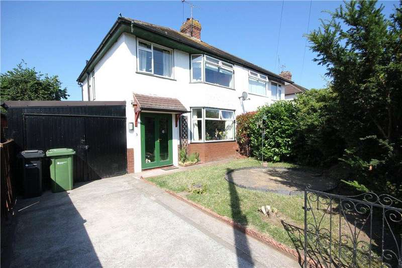3 Bedrooms Semi Detached House for sale in Manor Road, Hereford, HR2