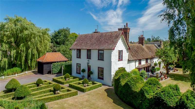 5 Bedrooms Detached House for sale in Chapel Street, Hinxworth, Hertfordshire
