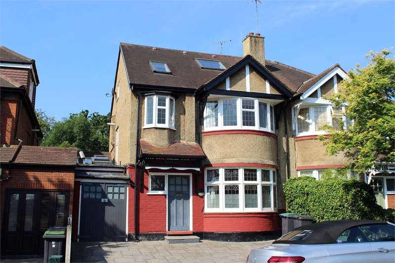 4 Bedrooms Semi Detached House for sale in Rhodes Avenue, Muswell Hill Borders, London