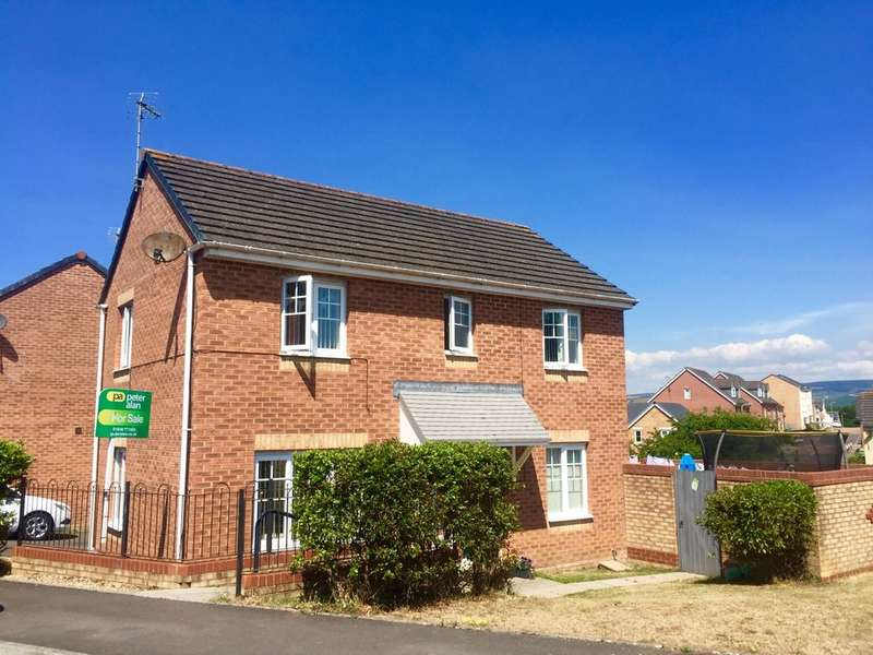 3 Bedrooms Detached House for sale in Long Meadow, North Cornelly