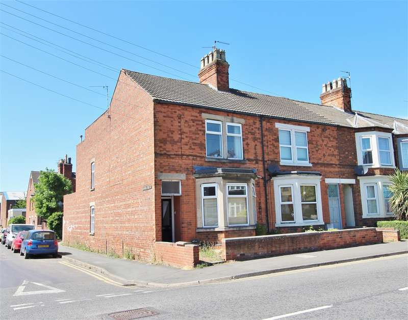 3 Bedrooms End Of Terrace House for sale in Harlaxton Road, Grantham