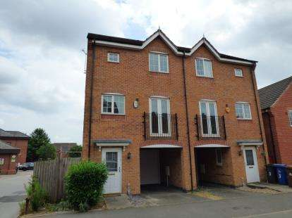 3 Bedrooms Semi Detached House for sale in Clough Drive, Stretton, Burton Upon Trent, Staffordshire