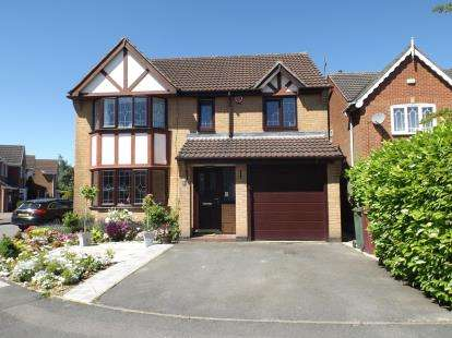 4 Bedrooms Detached House for sale in Kynance Close, South Normanton, Alfreton, Derbyshire